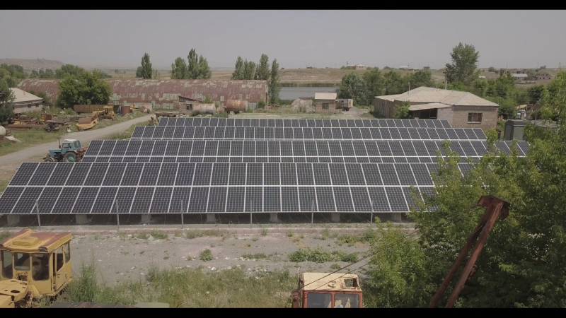 Solar power - Ani OJSC - Solar power plant